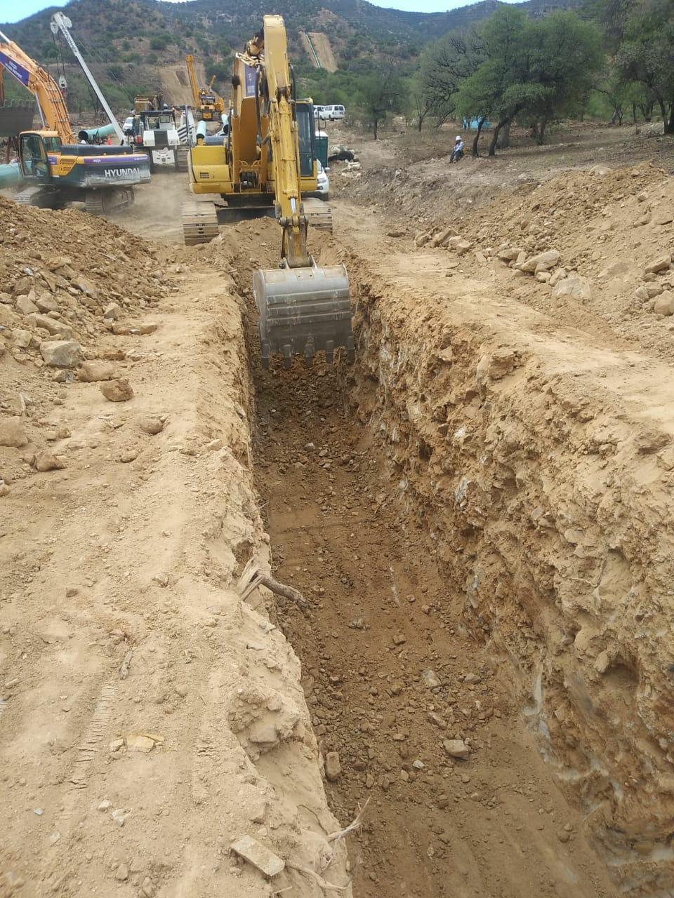Excavación A-B